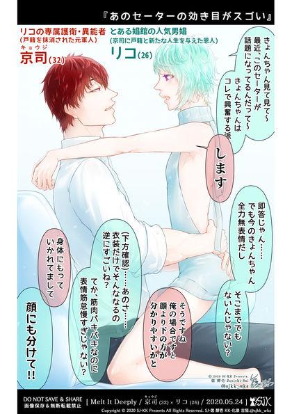 『SJ-KK Presents BL Short Comics』※不定期連載中
